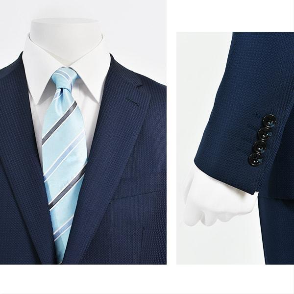 dc フィッチェ スーツ メンズ スリム 秋冬春 30代/40代/50代  Y体 Y6 ネイビー gorgons 03