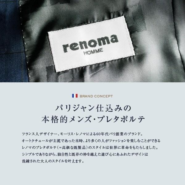 dc レノマ スーツ メンズ スリム 秋冬春 30代/40代/50代  Y体 Y6 ネイビー gorgons 08