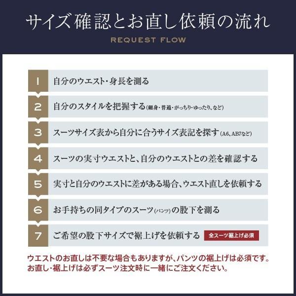 dc レノマ スーツ メンズ スリム 秋冬春 30代/40代/50代  Y体 Y6 ネイビー gorgons 09