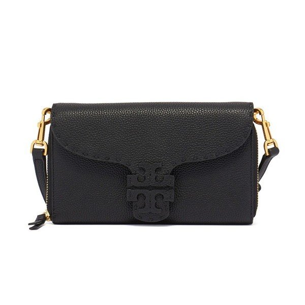 新到着 Tory Burch 53043 長財布 MCGRAW WALLET CROSSBODY 53043 MCGRAW レディース CROSSBODY BLACK 001 トリーバーチ, Funky-Angel:991ed4c6 --- sonpurmela.online