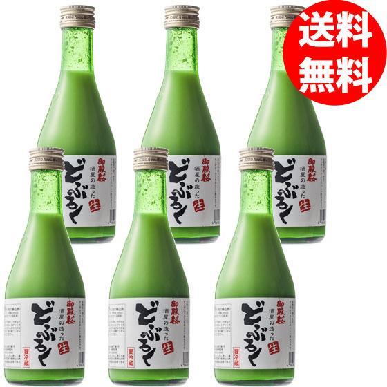 御殿桜 生どぶろく(微発泡)300ml(送料無料/6本入り)|gotensakura