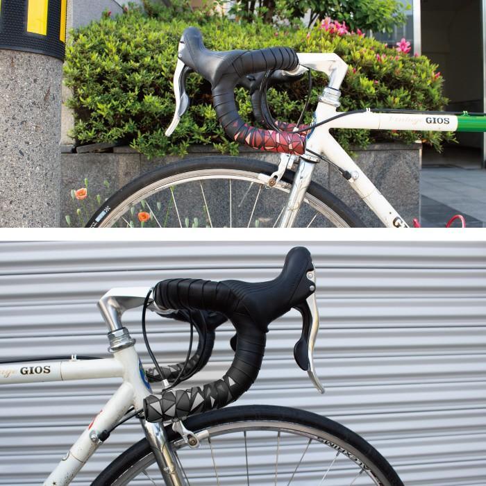 【全国送料無料】GORIX ゴリックス ロードバイク バーテープ (GX-BARA) バラ柄 自転車テープ・おしゃれ・2カラー・衝撃吸収・グリップ力・シンプルデザイン|gottsu|04