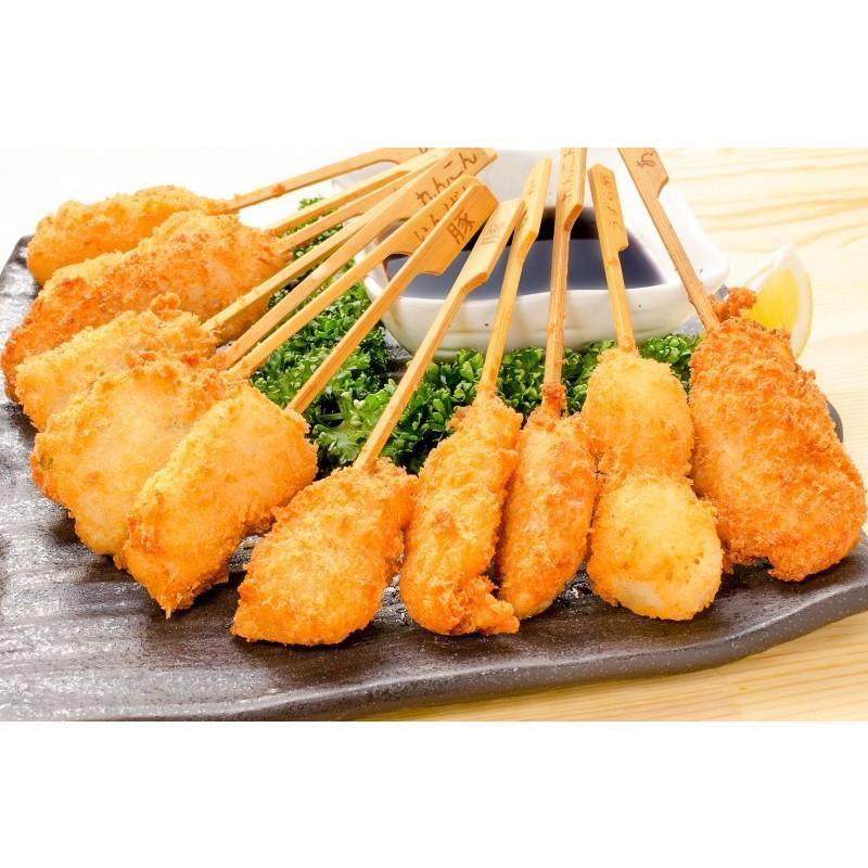 串揚げ 串揚げバラエティーセット 6種類×2本 合計12本|gourmet-no-ousama|11