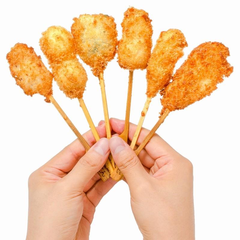 串揚げ 串揚げバラエティーセット 6種類×2本 合計12本|gourmet-no-ousama|12