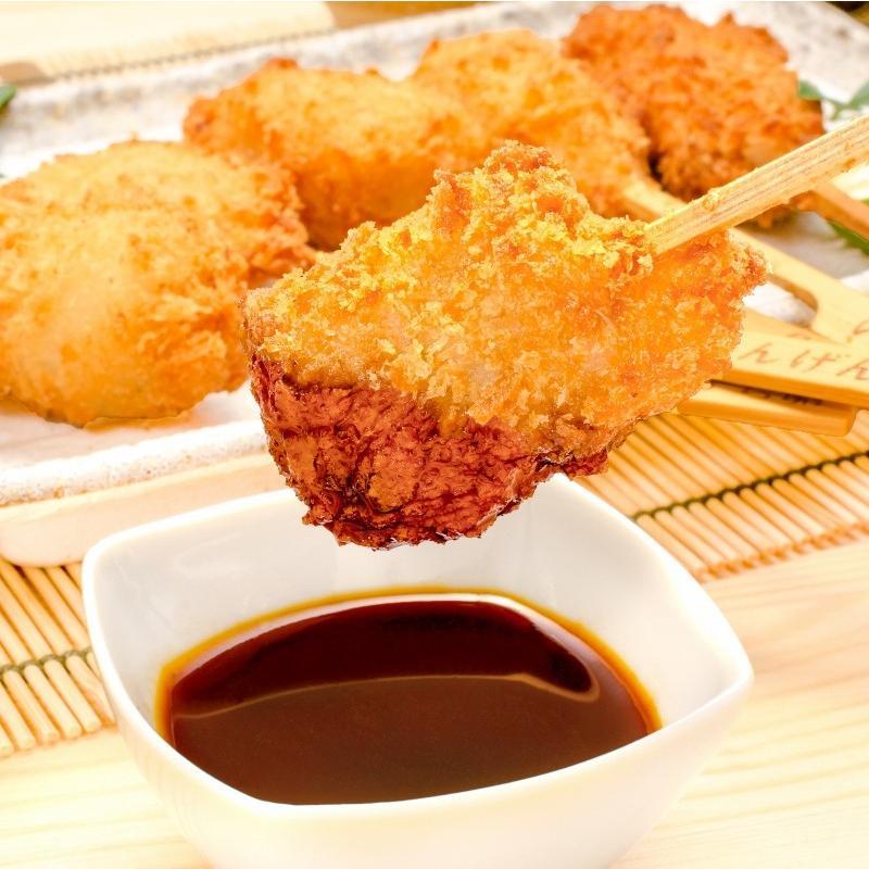 串揚げ 串揚げバラエティーセット 6種類×2本 合計12本|gourmet-no-ousama|04