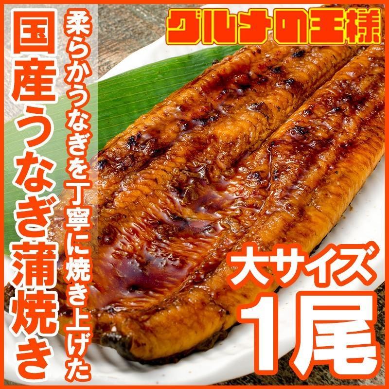 国産うなぎ蒲焼き 大サイズ 平均165g前後×1尾 gourmet-no-ousama