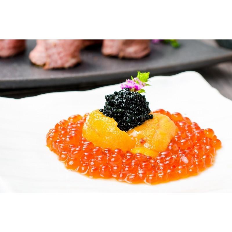 生ウニ 生うに 冷凍 無添加 天然 300g 100g×3パック(ウニ うに 雲丹)|gourmet-no-ousama|13