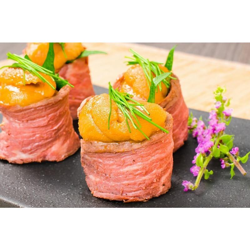 生ウニ 生うに 冷凍 無添加 天然 300g 100g×3パック(ウニ うに 雲丹)|gourmet-no-ousama|16
