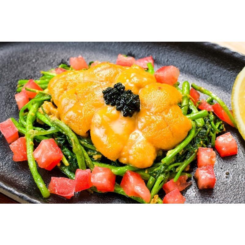 生ウニ 生うに 冷凍 無添加 天然 300g 100g×3パック(ウニ うに 雲丹)|gourmet-no-ousama|17