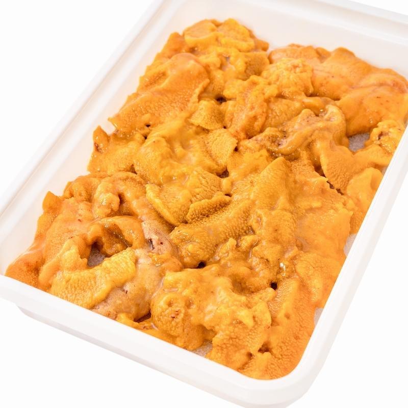 生ウニ 生うに 冷凍 無添加 天然 300g 100g×3パック(ウニ うに 雲丹)|gourmet-no-ousama|18