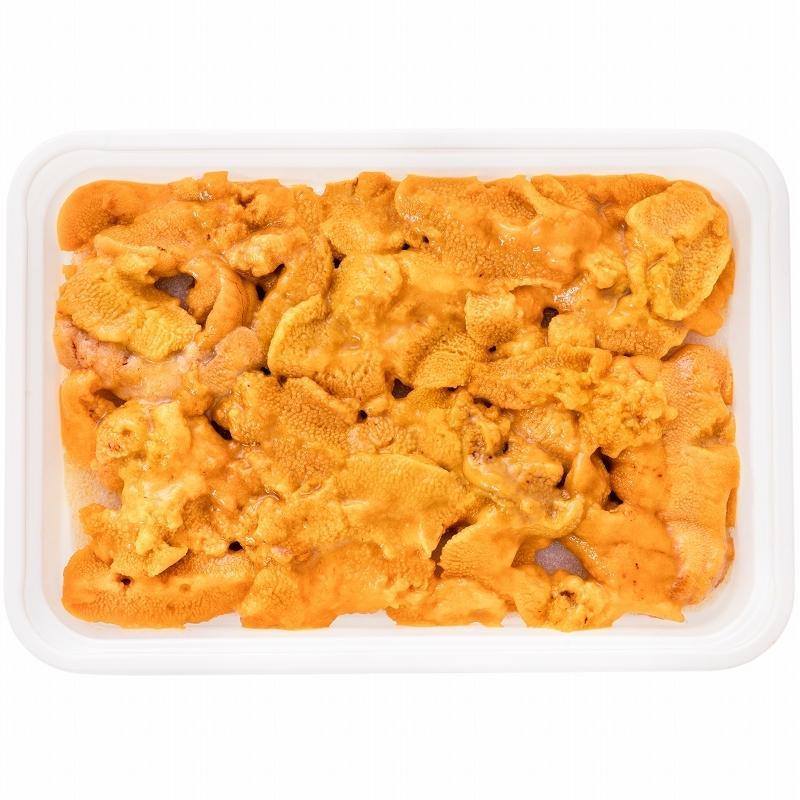 生ウニ 生うに 冷凍 無添加 天然 300g 100g×3パック(ウニ うに 雲丹)|gourmet-no-ousama|19
