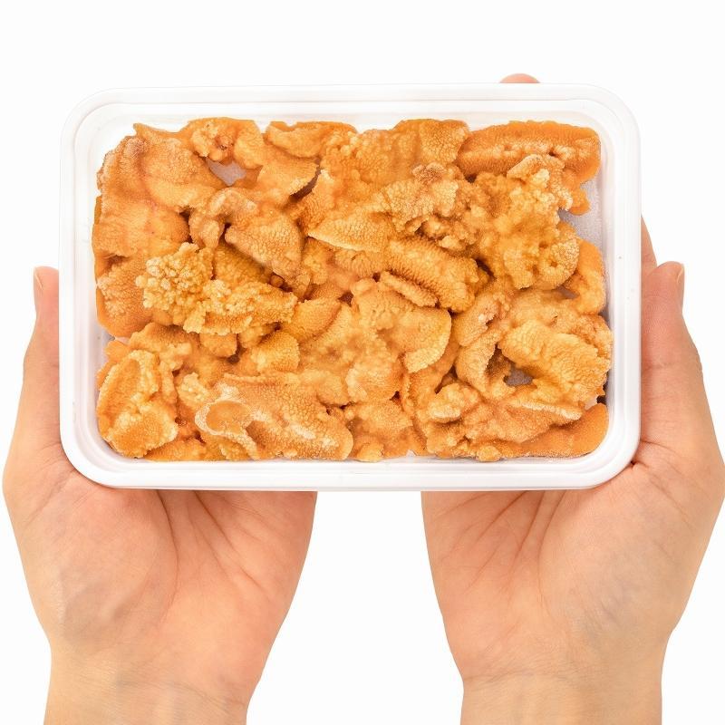 生ウニ 生うに 冷凍 無添加 天然 300g 100g×3パック(ウニ うに 雲丹)|gourmet-no-ousama|20