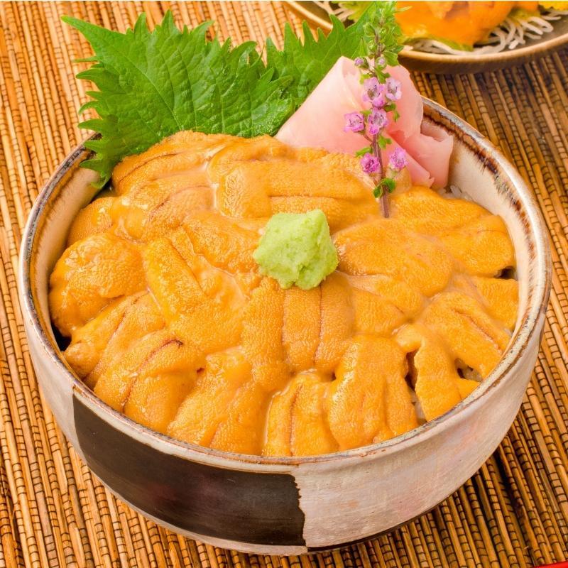 生ウニ 生うに 冷凍 無添加 天然 300g 100g×3パック(ウニ うに 雲丹)|gourmet-no-ousama|04
