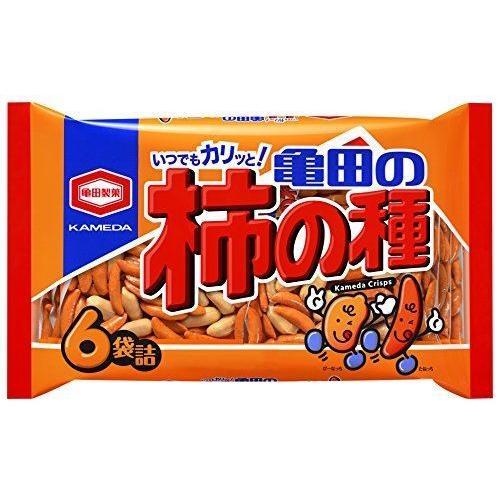亀田製菓 亀田の柿の種6袋詰 200g×12袋 :4901313192047-12:御用蔵 大川 ...