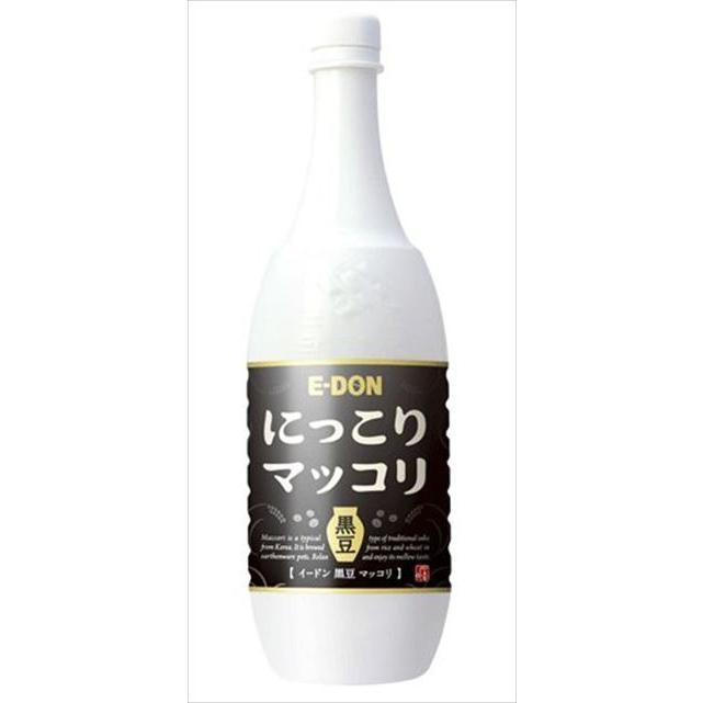 二東 黒豆マッコリ ペット 1000ml×15本|goyougura-okawa