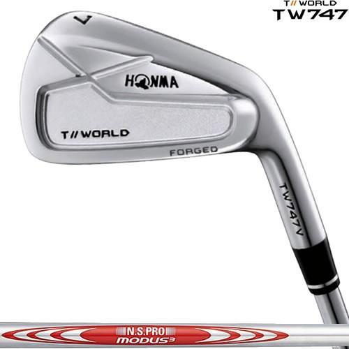 ホンマ ゴルフ TW747 V 6本セット(5-10番) アイアン ツアーワールド HONMA 本間【モーダス105/120/T-WORLD 日本シャフト スチールシャフト】 ※2018年モデル