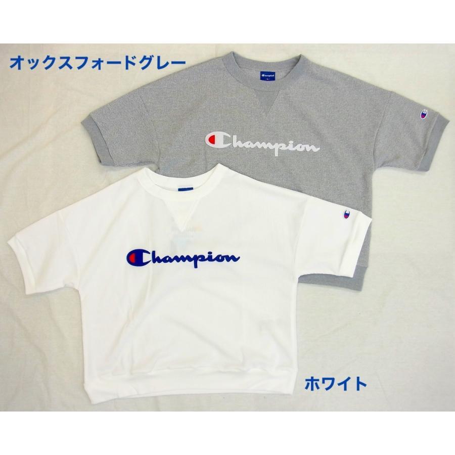 Champion チャンピオン レディース 半袖 Tシャツ カットソー クルーネック UVカット gpstore 03