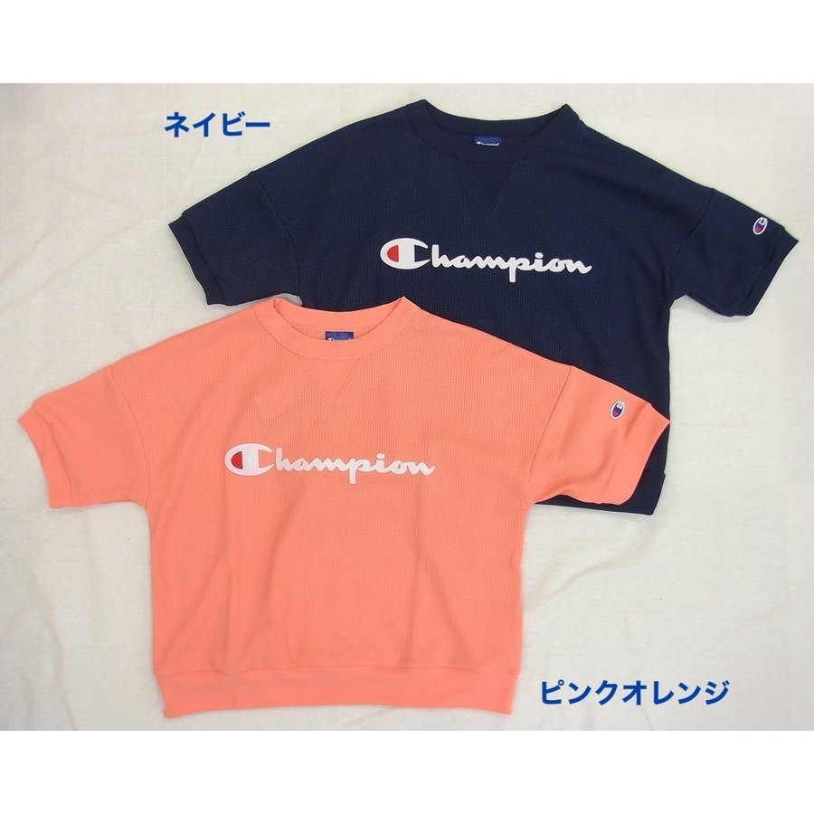 Champion チャンピオン レディース 半袖 Tシャツ カットソー クルーネック UVカット gpstore 04
