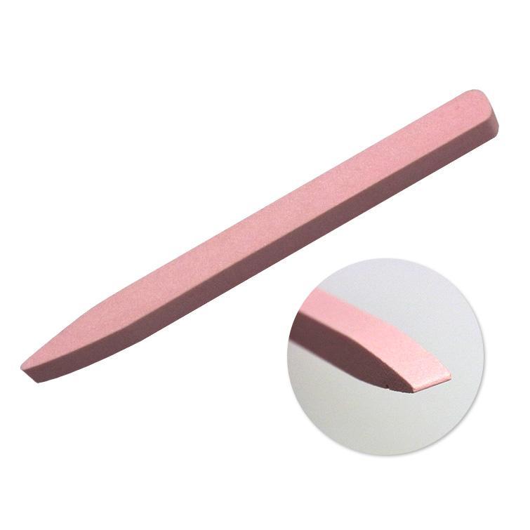 ゆうパケット対象商品 新商品 世界の人気ブランド 新型 甘皮がごっそり削れる ピンクセラミックキューティクルプッシャー