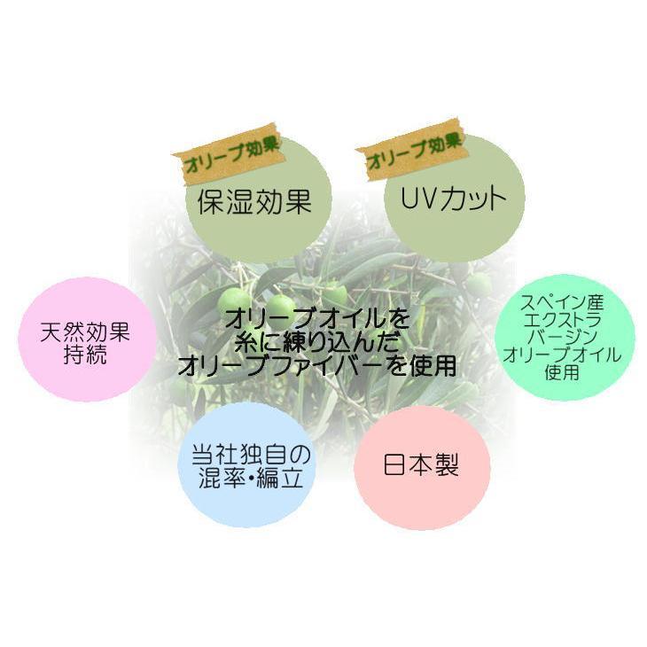 ケア帽子で保湿ケアとUVケア高紫外線遮蔽率ブラック オリーブの恵み|graceofgloves|12