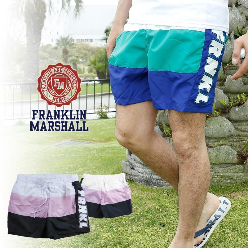 フランクリン マーシャル ショートパンツ メンズ 水着 ハーフパンツ フランクリン&マーシャル FRANKLIN & MARSHALL