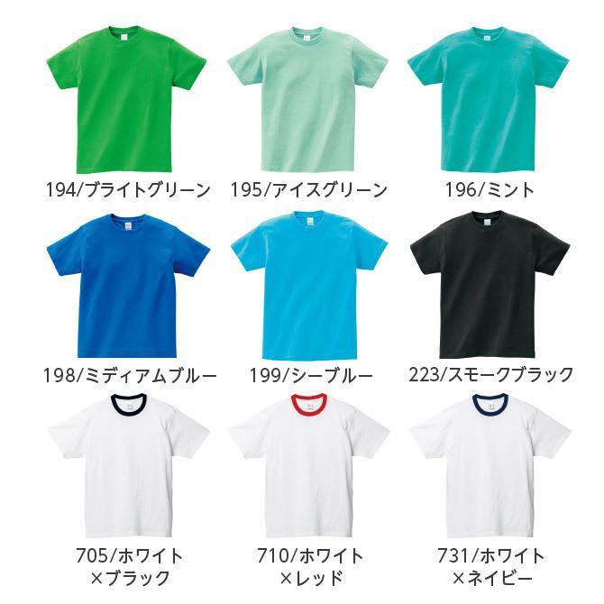 Tシャツ メンズ レディース 半袖 厚手 無地 Printstar プリントスター 5.6オンス ヘビーウェイトTシャツ grafit 18