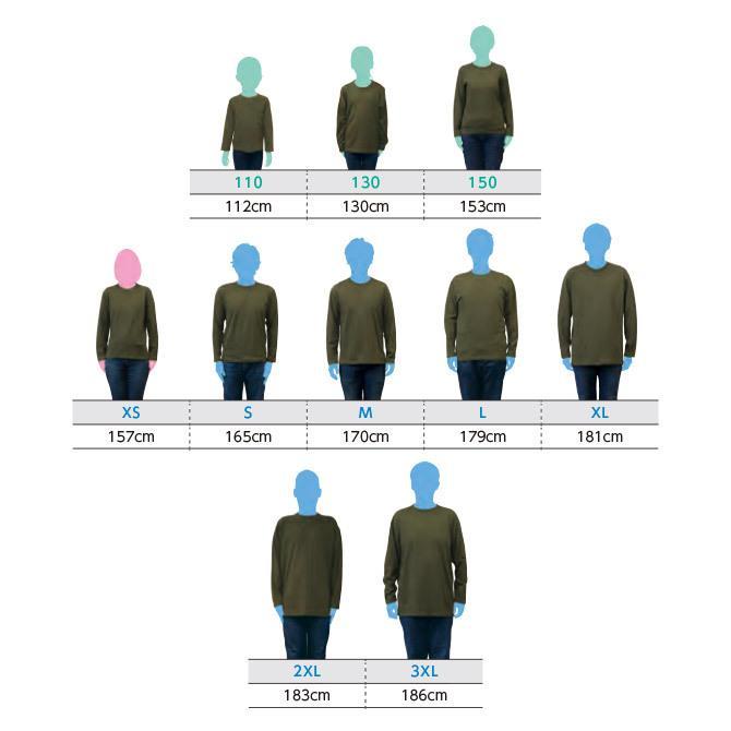 Tシャツ メンズ レディース 長袖 厚手 無地 Printstar プリントスター 5.6オンス ヘビーウェイト長袖Tシャツ|grafit|11