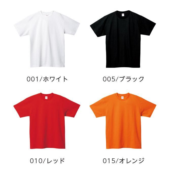 Tシャツ メンズ レディース 半袖 鹿の子 無地 Printstar プリントスター 5.8オンス T/CクルーネックTシャツ grafit 12