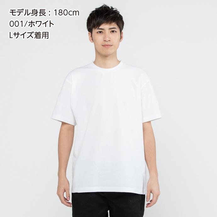 Tシャツ メンズ レディース 半袖 鹿の子 無地 Printstar プリントスター 5.8オンス T/CクルーネックTシャツ grafit 03