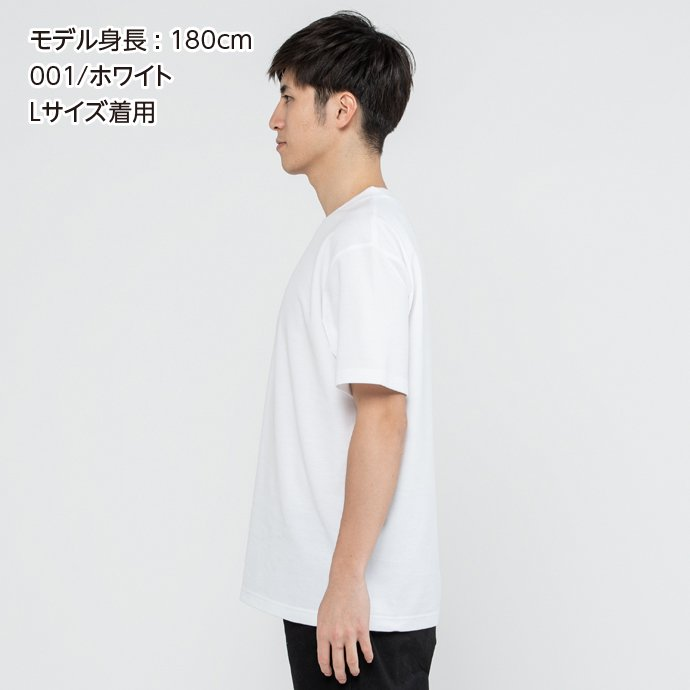 Tシャツ メンズ レディース 半袖 鹿の子 無地 Printstar プリントスター 5.8オンス T/CクルーネックTシャツ grafit 04