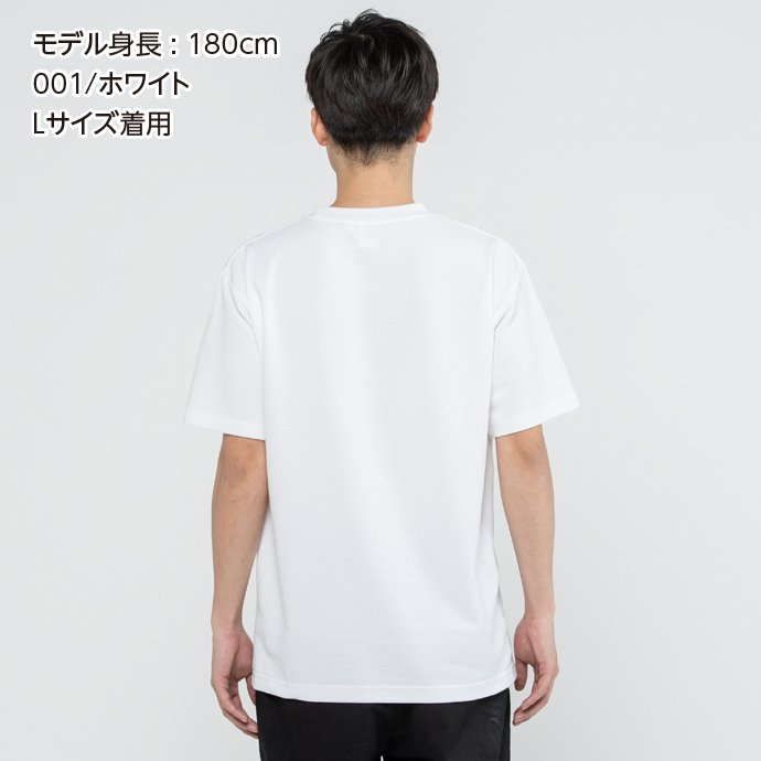 Tシャツ メンズ レディース 半袖 鹿の子 無地 Printstar プリントスター 5.8オンス T/CクルーネックTシャツ grafit 05