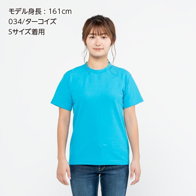 Tシャツ メンズ レディース 半袖 鹿の子 無地 Printstar プリントスター 5.8オンス T/CクルーネックTシャツ grafit 06