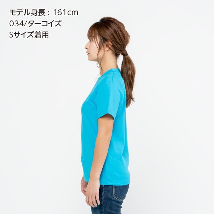 Tシャツ メンズ レディース 半袖 鹿の子 無地 Printstar プリントスター 5.8オンス T/CクルーネックTシャツ grafit 07