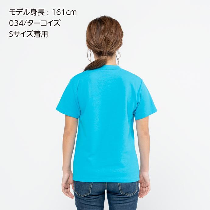 Tシャツ メンズ レディース 半袖 鹿の子 無地 Printstar プリントスター 5.8オンス T/CクルーネックTシャツ grafit 08