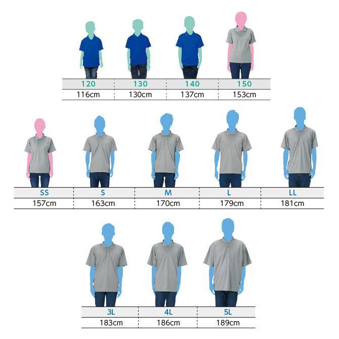 ポロシャツ メンズ レディース 半袖 吸汗速乾 無地 glimmer グリマー 4.4オンス ドライポロシャツ ポケット無し|grafit|13