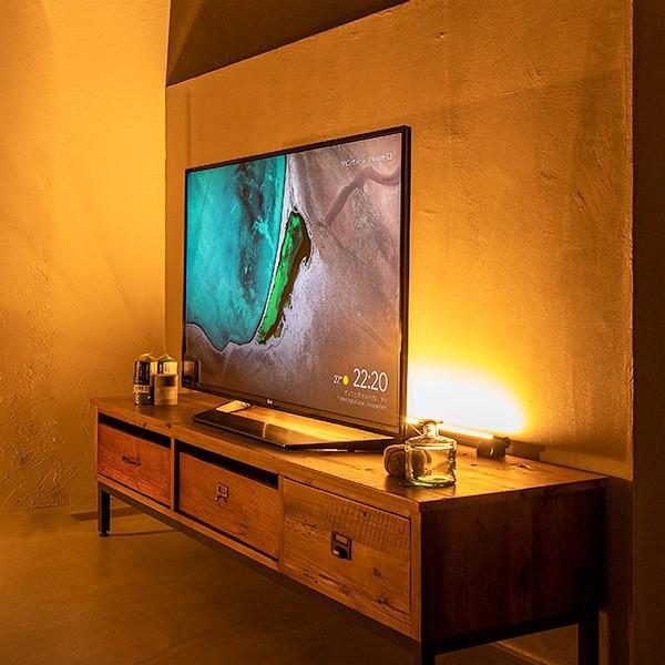 間接照明 おしゃれ 寝室 リビング 北欧 スタンド LED リモコン フロアライト フロアランプ シアターライト MANX マンクス|gram8