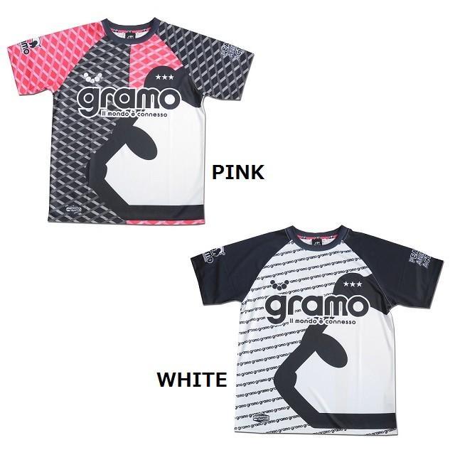 グラモ gramo『gene』昇華プラクティスシャツ P-052
