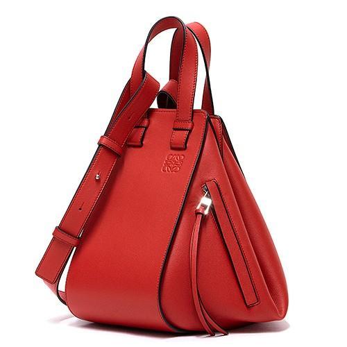 人気ブランドの ロエベ SCARLET ハンドバッグ(6WAY仕様) SCARLET RED スカーレットレッド 7120 レディース LOEWE RED Hammock Small Bag 387 30 S35 7120 (387.30.S35 7120), ナカクビキグン:538a09c9 --- chizeng.com