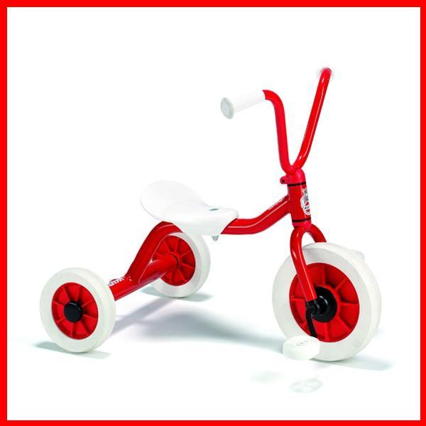 ボーネルンド ウィンザー社 ペリカン三輪車VハンドルS 赤 【乗用玩具】 1歳誕生日 ギフト
