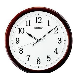【10セット】 SEIKO 電波掛時計 KX254B [KX254B] お取り寄せ[10000円アマゾンギフト付]