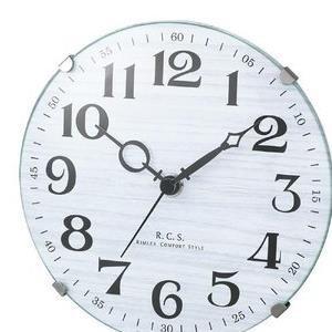 【5セット】 ノア精密 置掛両用時計 ホワイト W614WH [W614WH] お取り寄せ[10000円キャッシュバック]