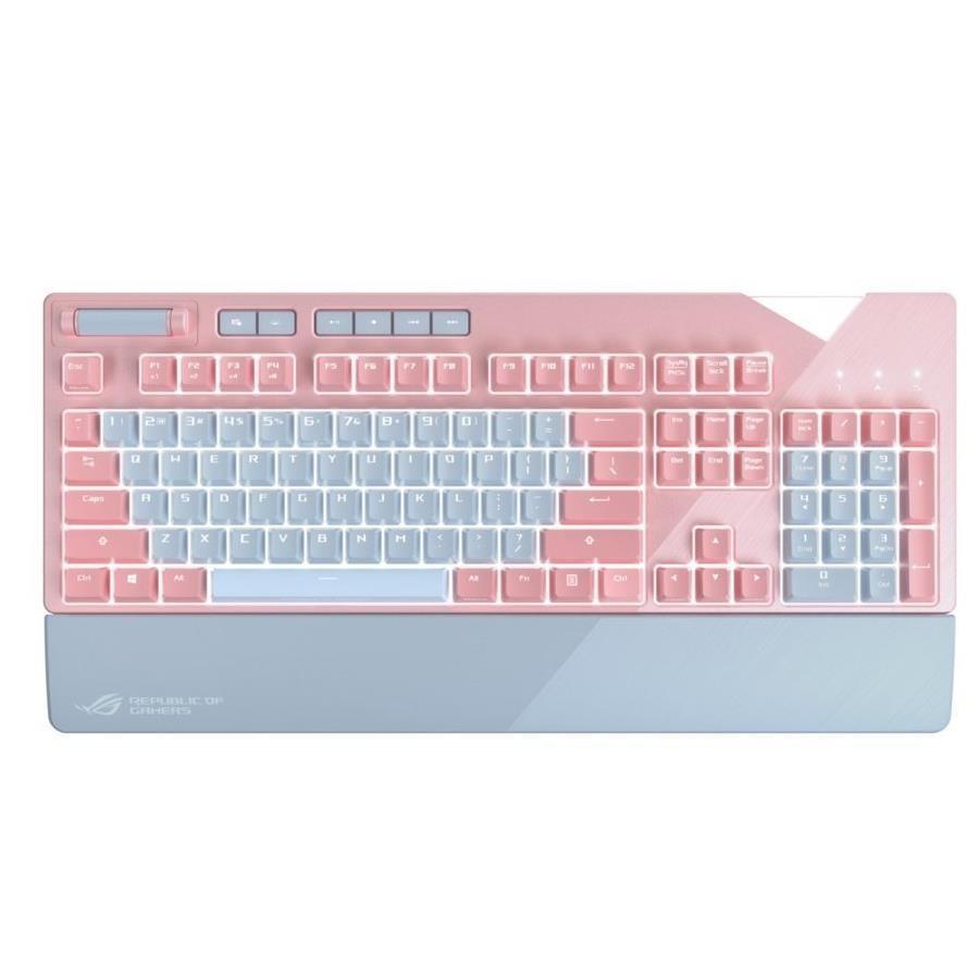 エイスース メカニカル ゲーミングキーボード ピンクモデル XA0STRIXFLAREPNKRDUS[10000円アマゾンギフト付]