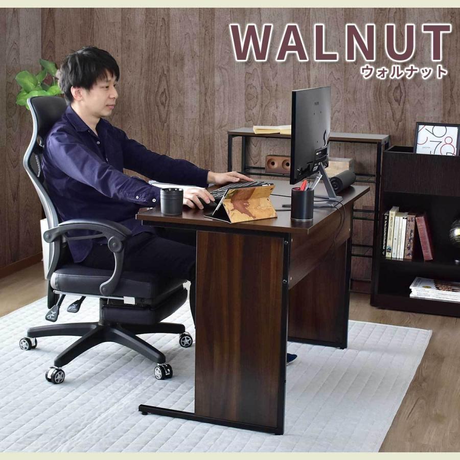 パソコンデスク オフィスチェア セット デスク チェア 在宅 テレワーク 木製 上下昇降 おしゃれ デザイナーズ コンパクト 北欧 エバンス100cm チェスター|grazia-doris|06