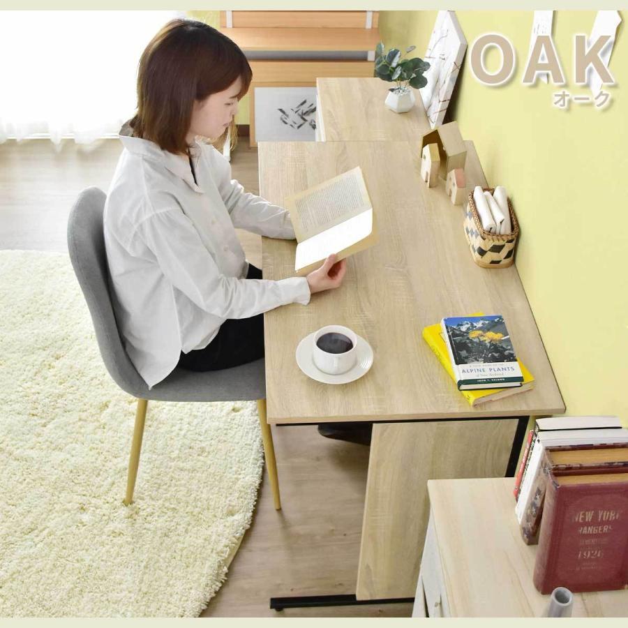 パソコンデスク オフィスチェア セット デスク チェア 在宅 テレワーク 木製 上下昇降 おしゃれ デザイナーズ コンパクト 北欧 エバンス100cm チェスター|grazia-doris|07