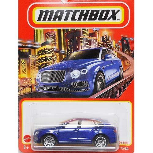 Matchbox:ベントレー・ベンテイガ (Bentley Bentayga)(ブルー)|grease-shop