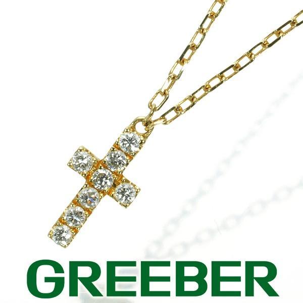 【希少!!】 アーカー ネックレス ダイヤ ダイヤモンド クロス K18YG BLJ, アクアshop 30ef3d44