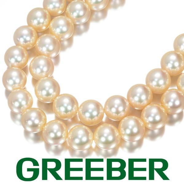 品質一番の ミキモト ネックレス アコヤ真珠 パール 8.0-8.5mm珠 2連 K18YG 箱 BLJ, 有田焼赤絵町 c048212b