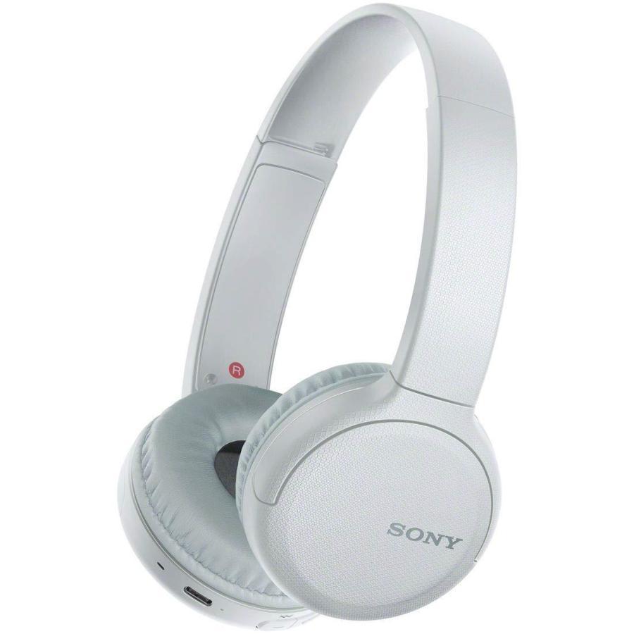 ソニー SONY ワイヤレスヘッドホン WH-CH510 : bluetooth / AAC対応 / 最大35時間連続再生 2019年モデル ホワイト WH-CH510 W|green-g-store