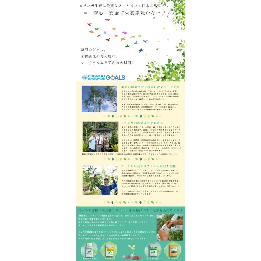 【グリーンモリンガ】モリンガカプセル(500mg×200カプセル) 葉100% スーパーフード 驚異的なGABA含有量 サプリメント 無農薬 無添加 奇跡の木|green-moringa|07