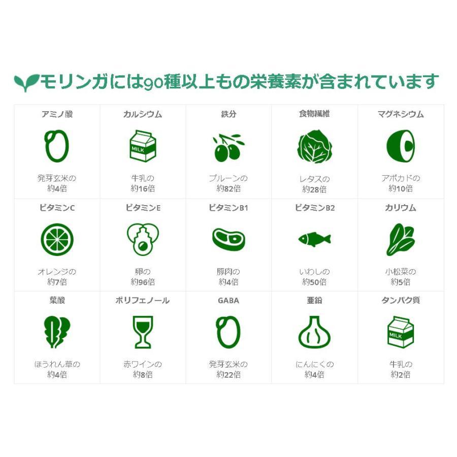 無農薬・無化学肥料のモリンガ葉100%使用・有機JAS認証(オーガニック)モリンガ茶・焙煎玄米入り(6.5g×12ティーバック)|green-moringa|03
